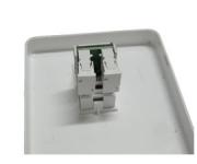 Caixa Roseta Terminação Óptico com Adaptador SC e RJ45 Nazda