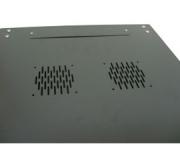 Rack Mini 19 09U X 450 mm para Parede Preto Nazda