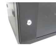 Rack Mini 19 04U X 450 mm para Parede Preto Nazda