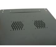 Rack Mini 19 12U X 450mm para Parede Preto Nazda