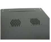 Rack Mini 19 12U X 600mm para Parede Preto Nazda